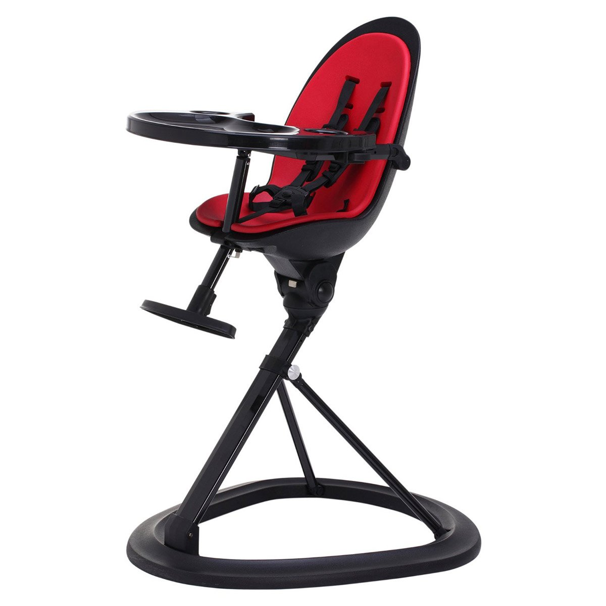 Exceptionnel Ickle Bubba Orb Baby Highchair   Feature Packed Feeding High Chair In Red  On Black Colour Combination: Amazon.co.uk: Baby