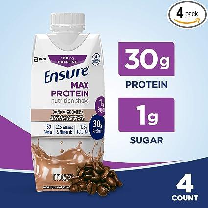 Asegurar Max batido nutricional de proteína con 1.06 oz de ...