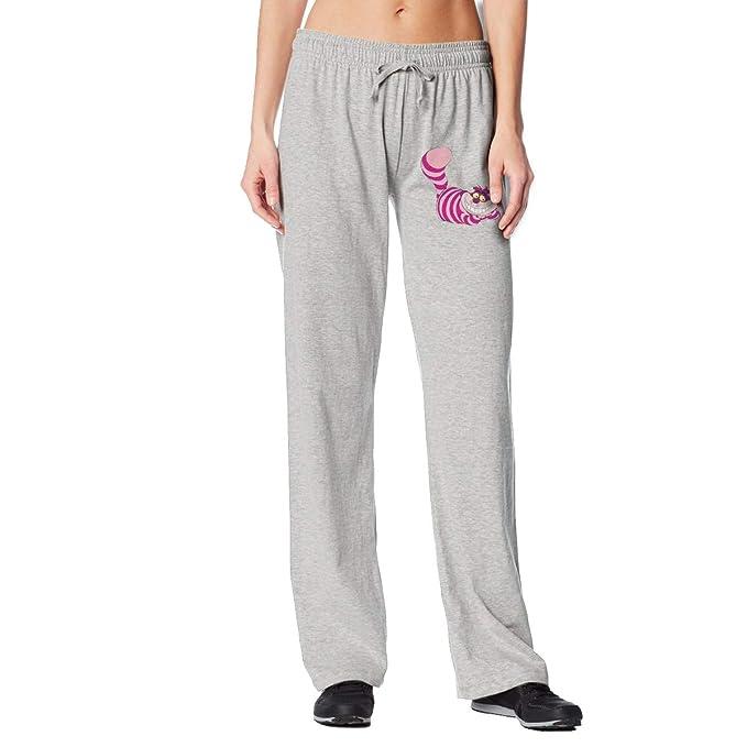 Amazon.com: Pantalones largos para mujer, diseño de gato de ...