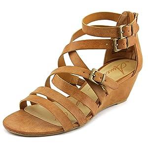 American Rag Carlin Women US 11 Tan Wedge Sandal