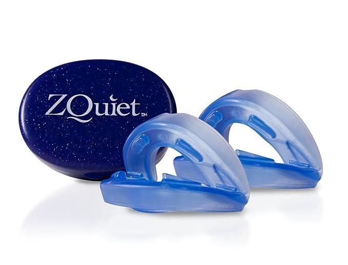 ZQuiet Set - 2 Férulas anti ronquidos para la comodidad perfecta! + incluye una guía gratuita de consejos anti ronquidos (SomniShop Set S 200): Amazon.es: ...