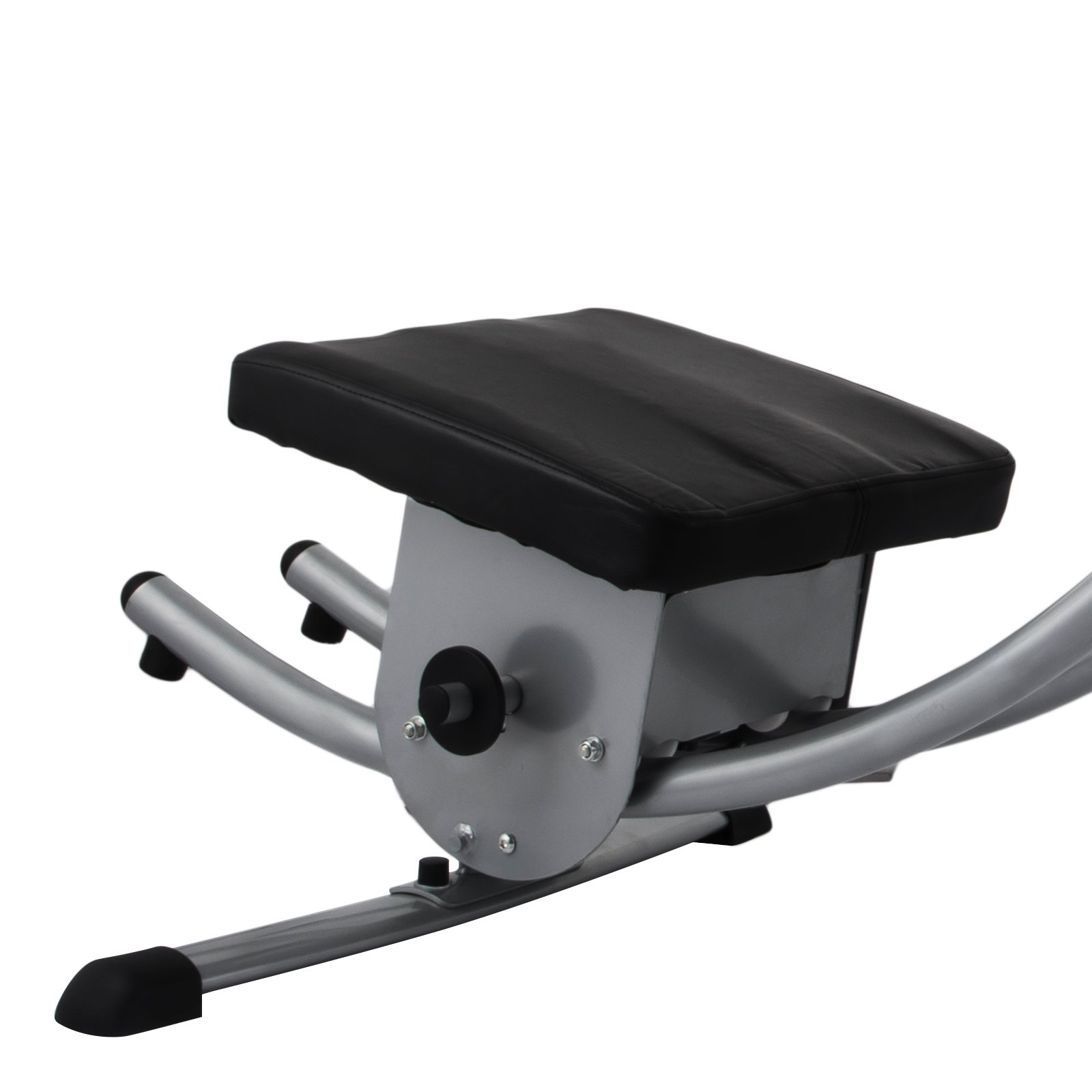 Popsport Abdomen Machine 330LBS Abdominal Coaster Abdomen Exercise Equipment with Adjustable Seat for Abdominal Muscle Training (Ab Coaster with 4 Dumbbells and wriggled Plate) by Popsport (Image #6)