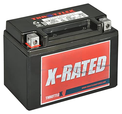 ThrottleX Batteries - ADX9-BS - AGM Replacement Power Sport Battery