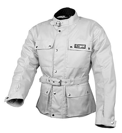 JET Chaqueta Moto Hombre Impermeable Textil con Armadura ...