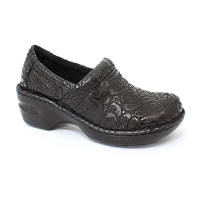 b.o.c Women's Peggy Black Tooled Synthetic 8.5 C/D US