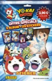 Panini - AS 2225-014 - Yo-Kai Watch - 1 Album et 25 Stickers