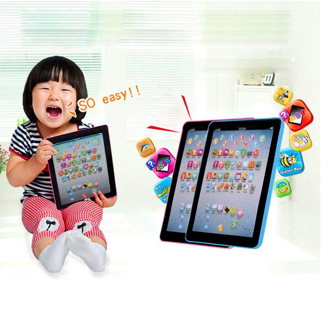 Zouvo Kids Pad Toy Pad Computer Tablet Education Learning Education Machine Touch Screen Tab Electronic Systems