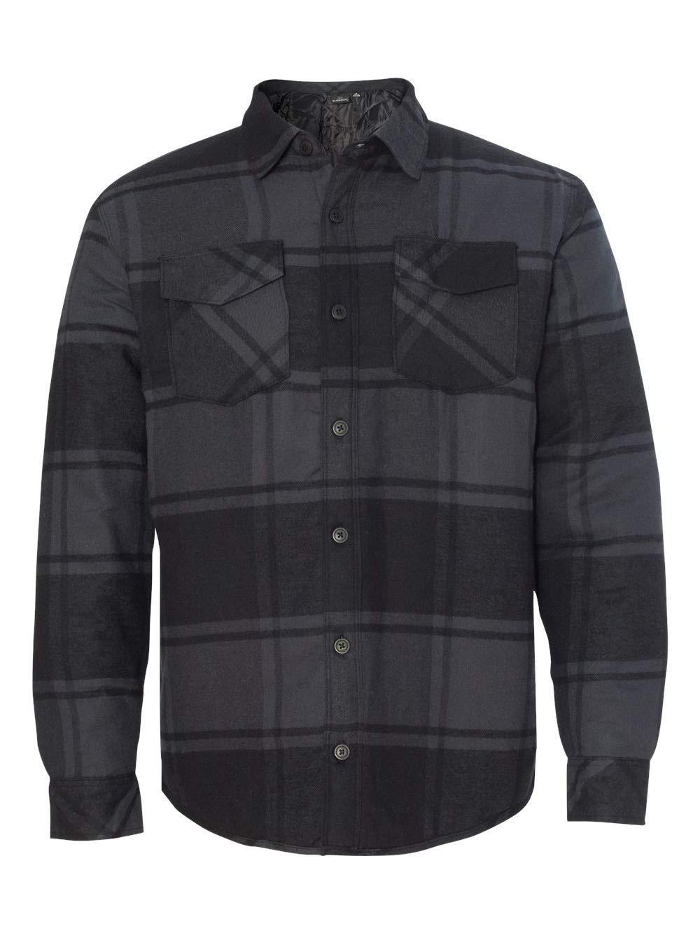 Burnside - Quilted Flannel Jacket - B8610