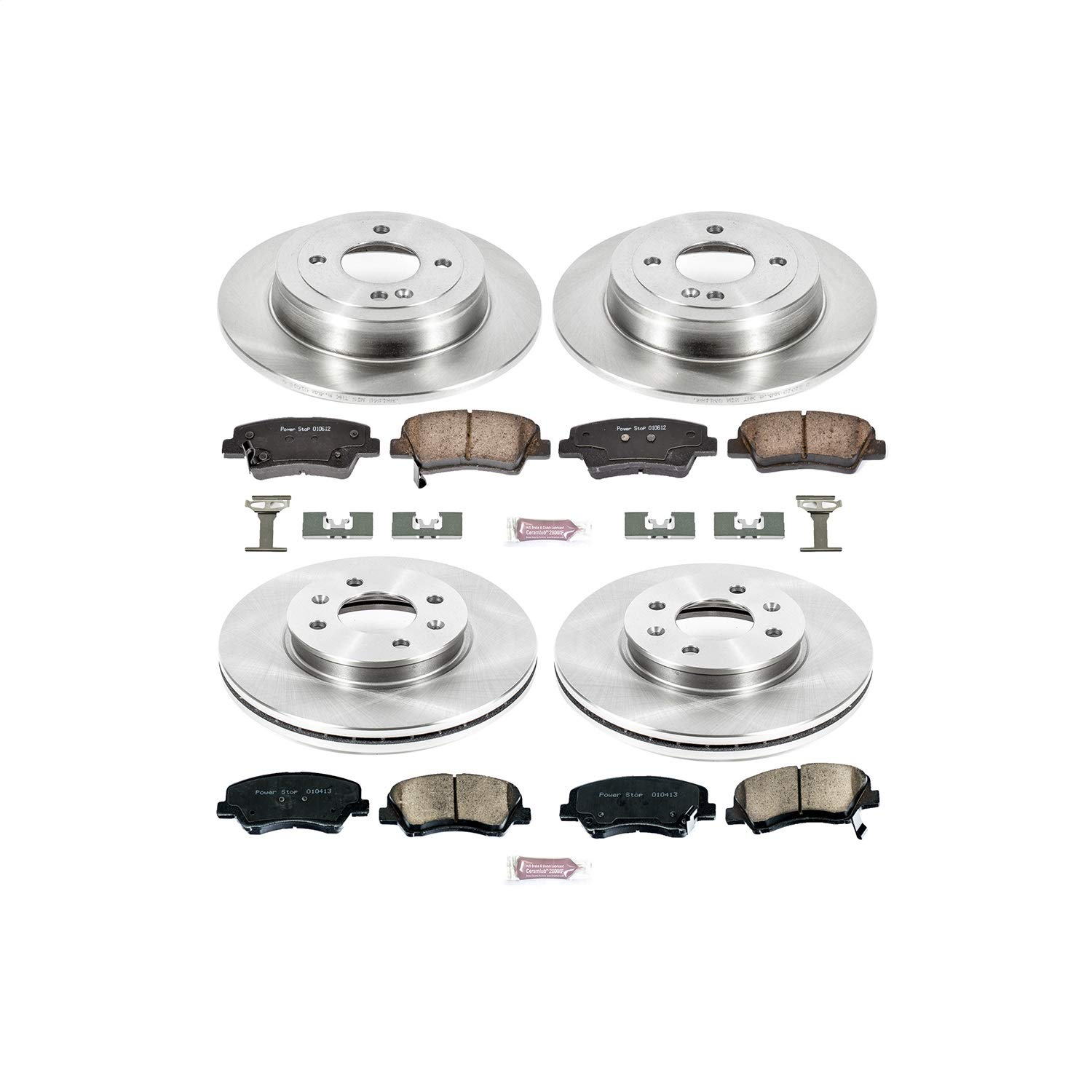 Brake System Power Stop KOE6509 Autospecialty Daily Driver OE ...
