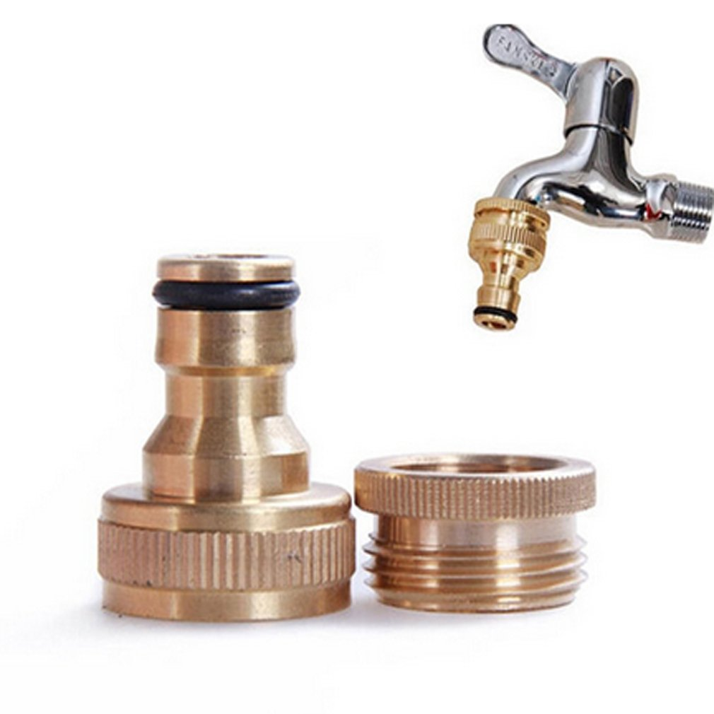 SOURBAN Brass Garden Faucet Water Hose Tap Connector Fitting