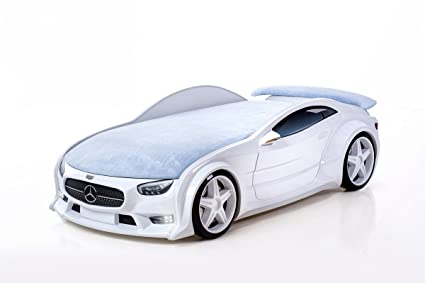 """Car bed for kids to 1 to 12 years. Twin Bed """"Mercedes"""""""