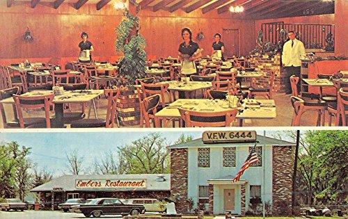 Georgetown South Carolina Embers Restaurant Multiview Vintage Postcard K49562