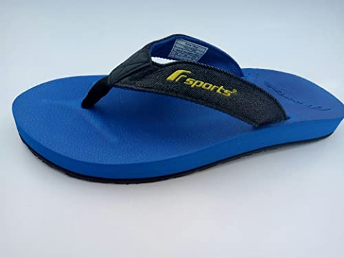 4fe0489d69fc5d F-sports Brand Mens Tango R.Blue Casual V-Shape Slipper   Flip Flops (6)   Buy Online at Low Prices in India - Amazon.in