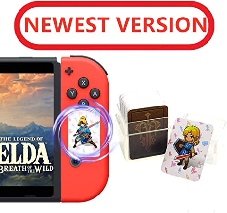 24pcs The Legend Of Zelda Breath Of The Wild Nfc Cards Link S Awakening Zelda Botw Game Rewards Cards Switch Lite Wii U