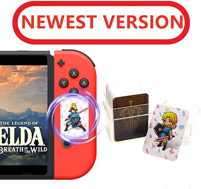 Tarjetas de premios The Legend of Zelda Breath of The Wild NFC, el ...
