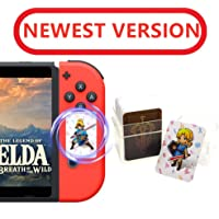 24 tarjetas NFC de The Legend of Zelda Breath of The Wild (BOTW), Link's Awakening, Zelda recompensas de juego para Switch/Lite y Wii U