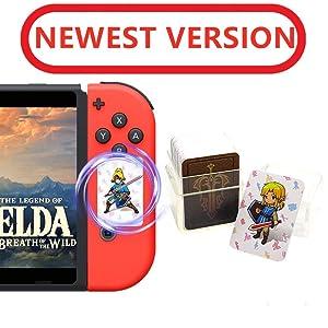 24Pcs The Legend of Zelda Breath of The Wild NFC Cards, Link's Awakening Zelda Botw Game Rewards Cards. Switch/Lite Wii U