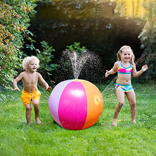 JOYIN Beach Ball Sprinkler (25
