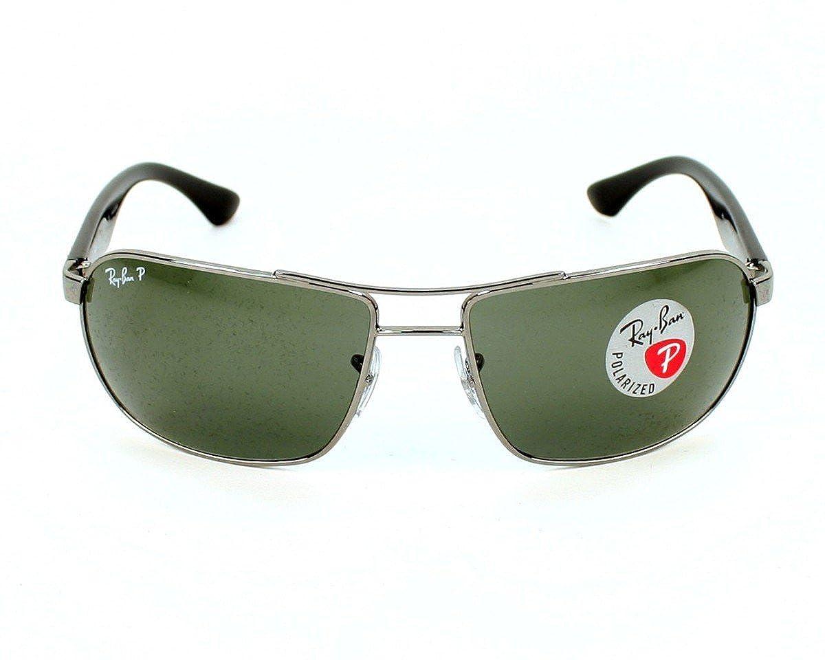 edd7c18cf4 Amazon.com  RAY BAN Sunglasses RB 3492 004 58 Gunmetal 62MM  Clothing