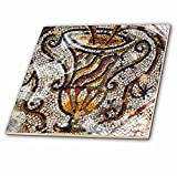 3dRose Danita Delimont - Artwork - Jar Mosaic, New House Of Hunt, Bulla Regia Archaeology Site, Tunisia - 8 Inch Glass Tile (ct_276611_7)