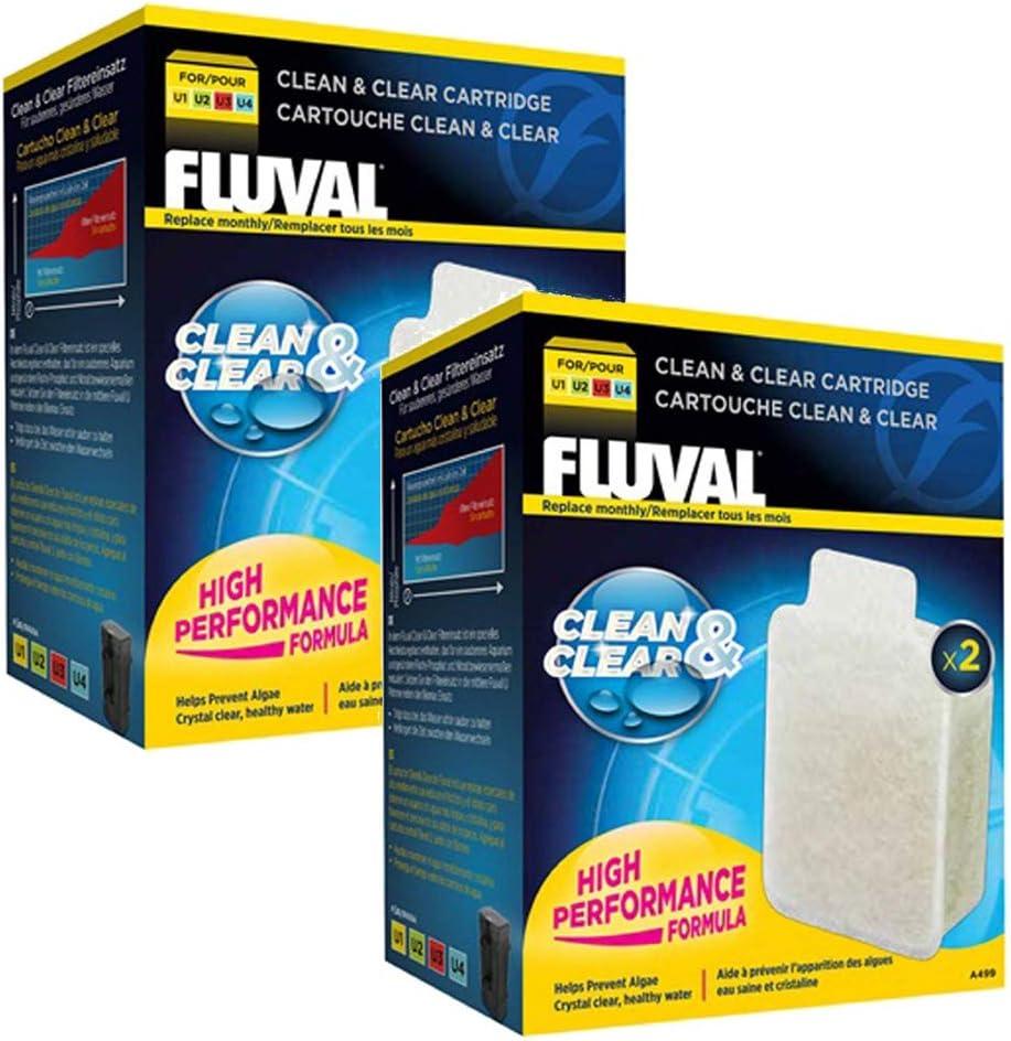 Cartuchos Clean and Clear para filtros Fluval