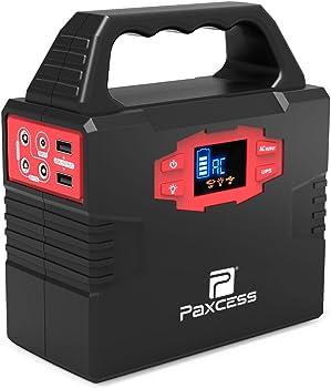 PAXCESS 100-Watt Solar Panel Portable Generator