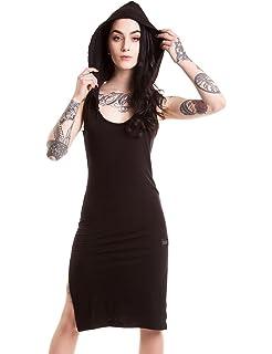 d29395b2d0 Vixxsin Crow Dress  Vixxsin  Amazon.co.uk  Clothing