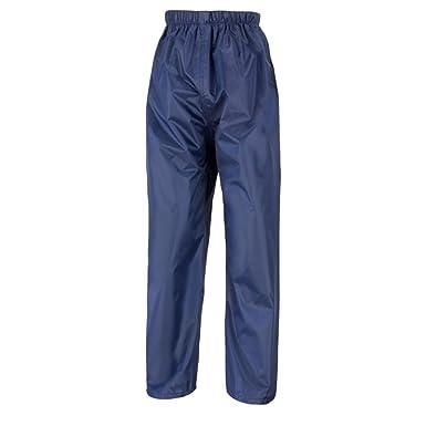 e78f256605141 Kids Waterproof Rain Over Trousers Childrens Childs Boys and Girls  Rainwear: Amazon.co.uk: Clothing