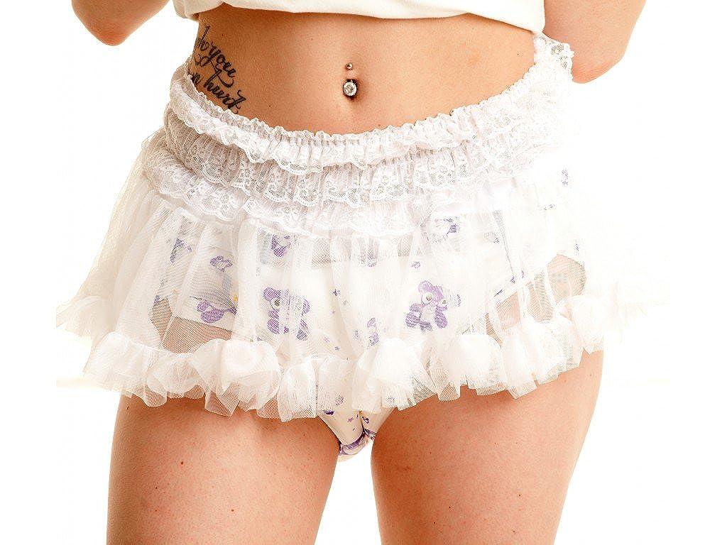 ABDL Supply White Tutu Skirt