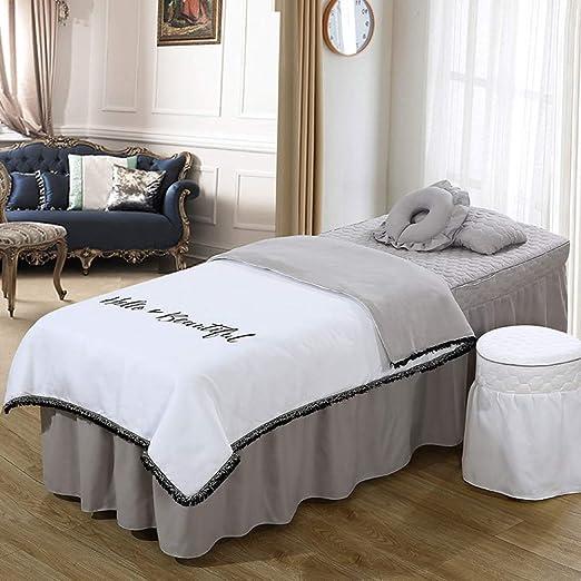 YXLJYH Simple Juego de sábanas para Camilla de Masaje Coreano ...