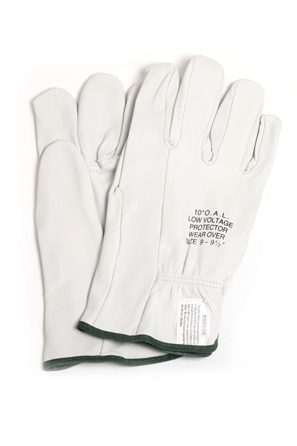 Size 9 Gloves White 10 National Safety Apparel DWH10L9 Leather Protectors