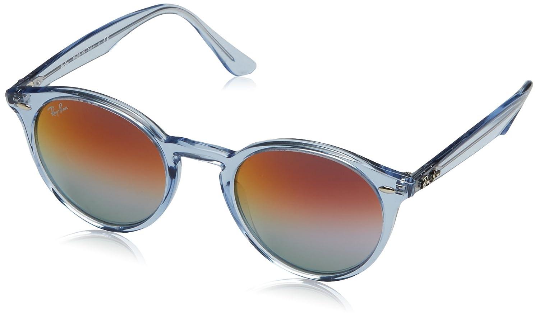 Amazon.com: Ray-Ban RB2180 - Gafas de sol redondas, Azul, 49 ...