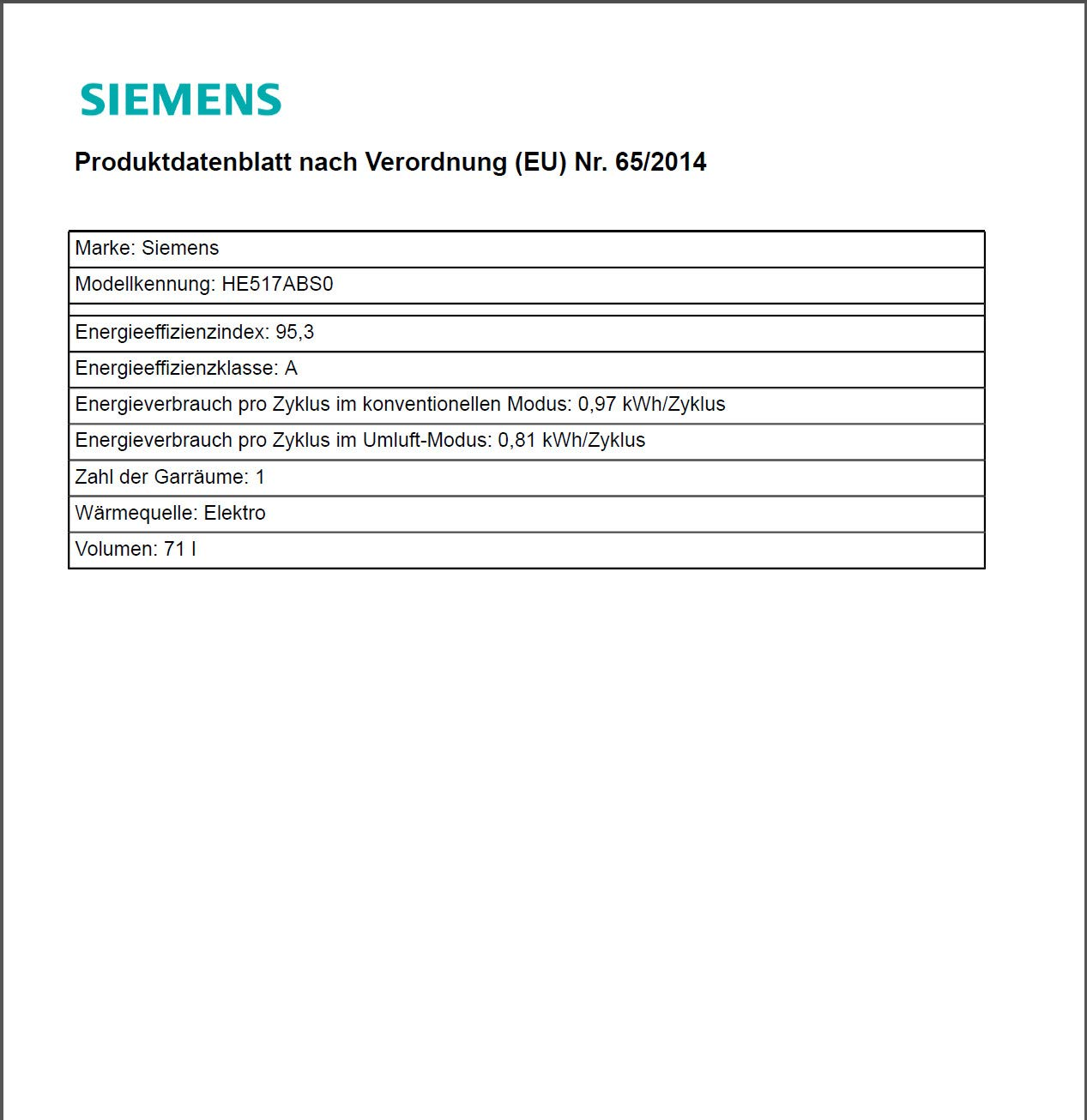 Siemens Eq521ka00 Herd Kochfeld Kombination Einbau 594 Cm