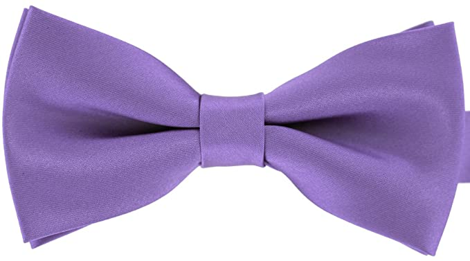 76c7ca1a3478 Image Unavailable. Image not available for. Color: Tok Tok Designs Handmade  B15 Men's Bow Ties - Purple Color