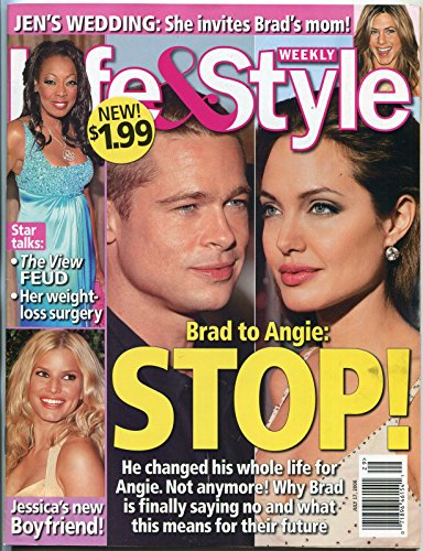 Life and Style Magazine July 2006- Brad Pitt- Angelina Jolie- Keith - Style Of Jolie