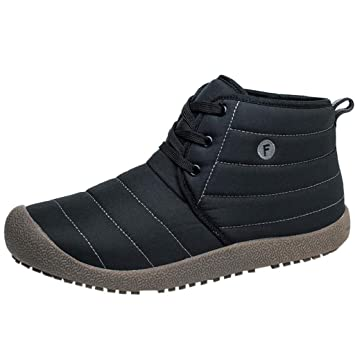 QUICKLYLY Botas De Nieve Mujer,Botines para Adulto,Zapatillas/Zapatos De Invierno Calzado De Algodón De Terciopelo A Prueba De Agua De Felpa: Amazon.es: ...