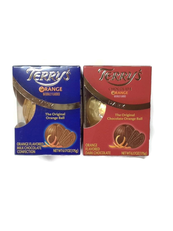 Amazon.com : Variety Pack of 2: Terry's Milk Chocolate & Dark ...