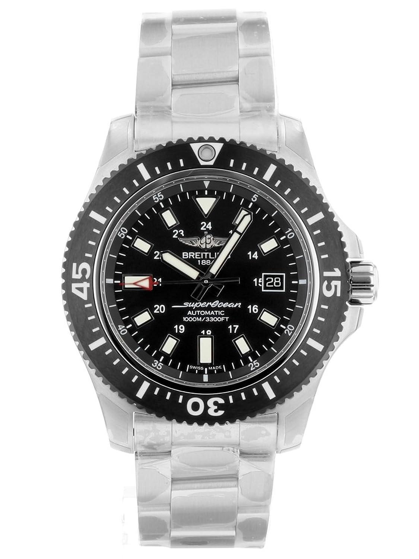 [ブライトリング] BREITLING 腕時計 Y17393 スーパーオーシャン 44 スペシャル SS 自動巻き ブラック文字盤 [中古品] [並行輸入品] B07B7KRQPG
