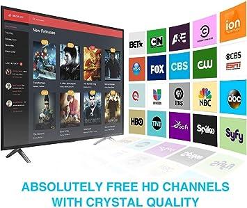 Antena de TV 2020 más Nueva 120 Millas de Tiempo de Funcionamiento Antena TNT en el Interior con Cable coaxial de 4 m de: Amazon.es: Electrónica