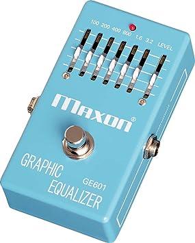 Maxon GE601 Graphic Equalizer · Pedal guitarra eléctrica