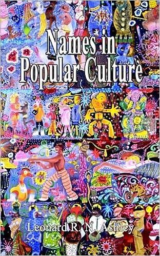 Names In Popular Culture Leonard R N Ashley 9780759691018