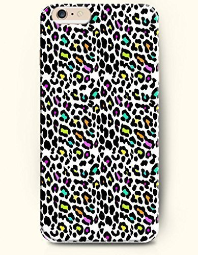 Colorful Leopard Grain In White Background Animal Print Phone Cover for Case Cover For Ipod Touch 4 ) Authentic iPhone Case