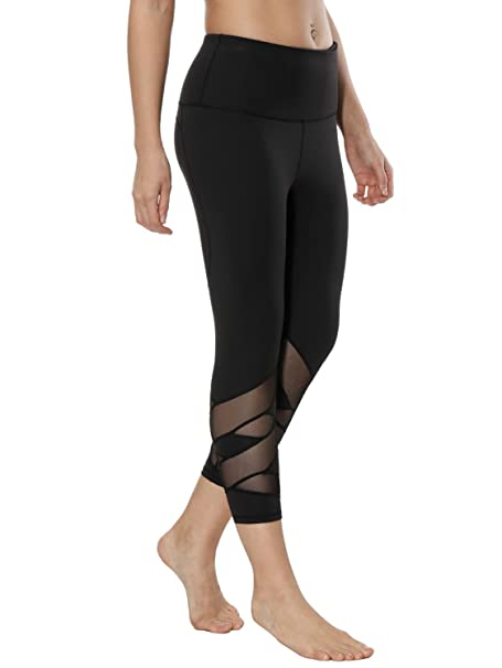 a04138be81d3 dh Garment Leggins Sportivi Donna Vita Alta Pantaloni Palestra Yoga  Leggings Fitness  Amazon.it  Abbigliamento