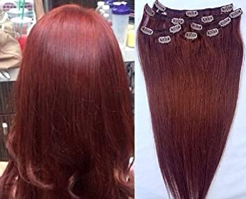 Full Head 18\' 100% REMY Human Hair Extensions