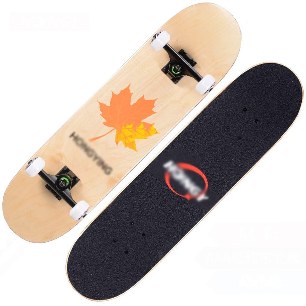 交換無料! DUWEN D) DUWEN スケートボードの十代の若者たちプロ四輪スケートボード子供大人男性と女性ダブルロッカースケートボードメープルスクーター (色 : D) : B07PFM3YH9 A A, ドレス販売ロイヤルチーパー:7d7a53ef --- quiltersinfo.yarnslave.com