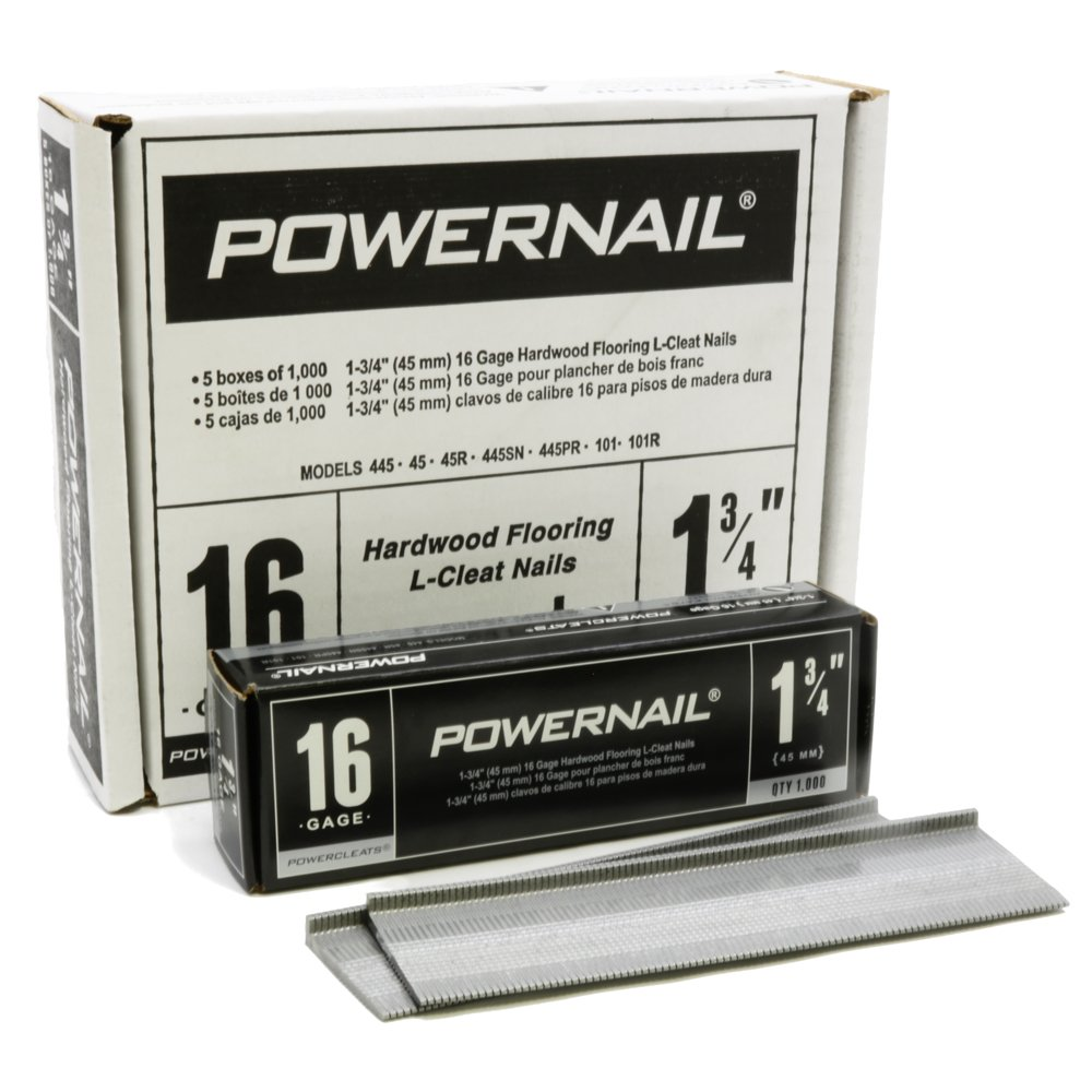 Powernail 1-3/4'' 16 Gage Cleat Box of 5,000
