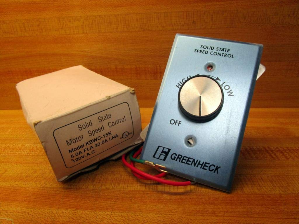 SOLID STATE KBWC-15K MOTOR SPEED CONTROL  NOS