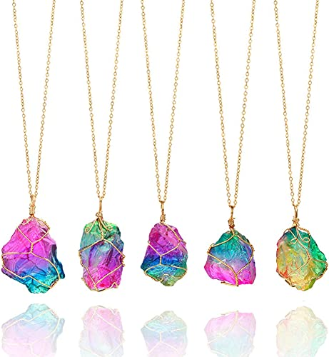 Amazon Com Healing Stone Necklaces Chakra Necklace For Women