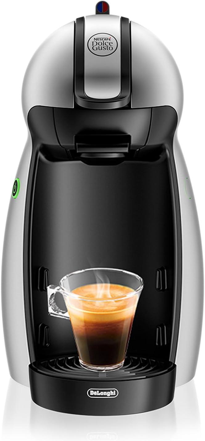 DeLonghi Dolce Gusto Piccolo EDG201.S - Cafetera de cápsulas, 15 bares de presión, color plateado: Amazon.es: Hogar