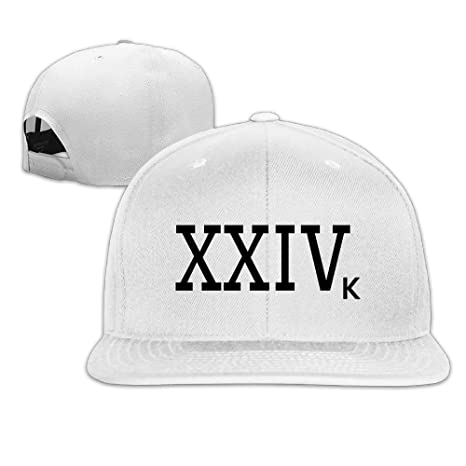 Bruno Mars 24k Magic Snapback Flat Baseball Fit Cap White  Amazon.ca   Clothing   Accessories 056ac48120c